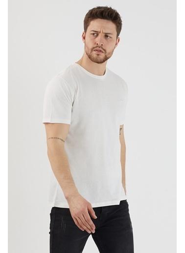 Slazenger Slazenger SANDER Erkek T-Shirt Kırık  Bej